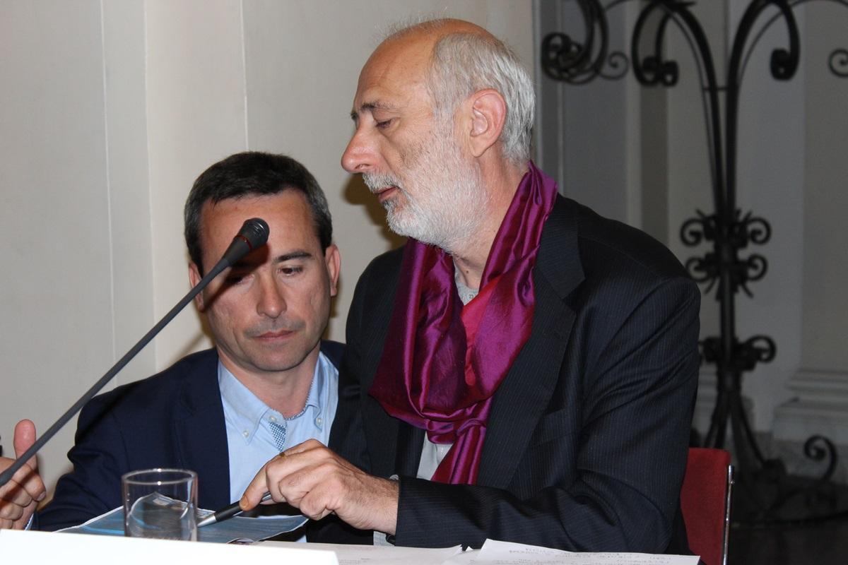 Stefano Ciafani e Jacopo Giliberto