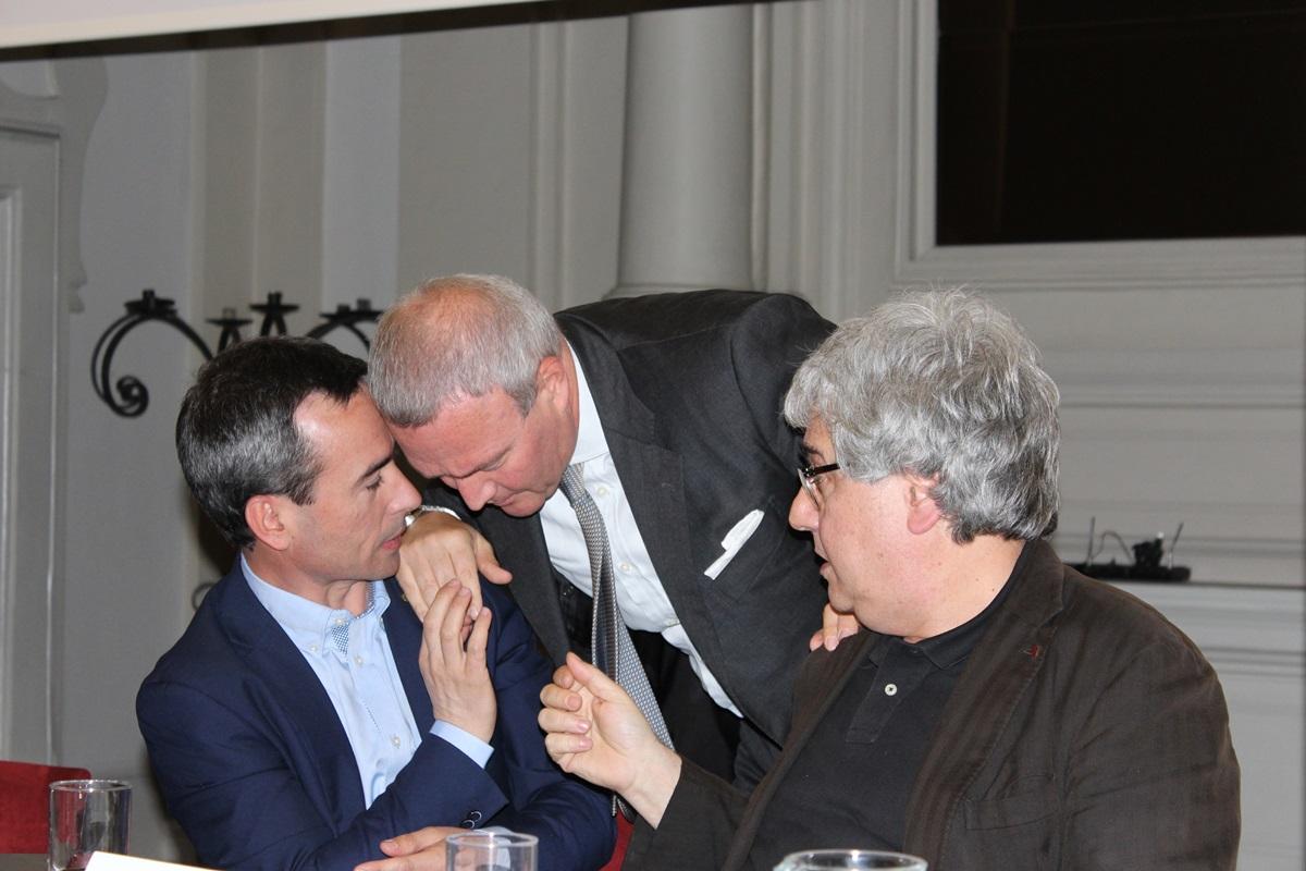 Stefano Ciafani, Mauro Libé ed Ermete Realacci