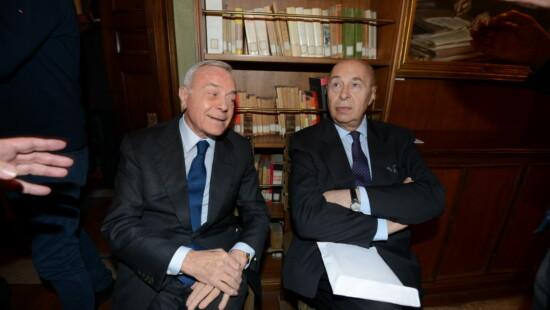 Gianni Letta e Paolo Mieli