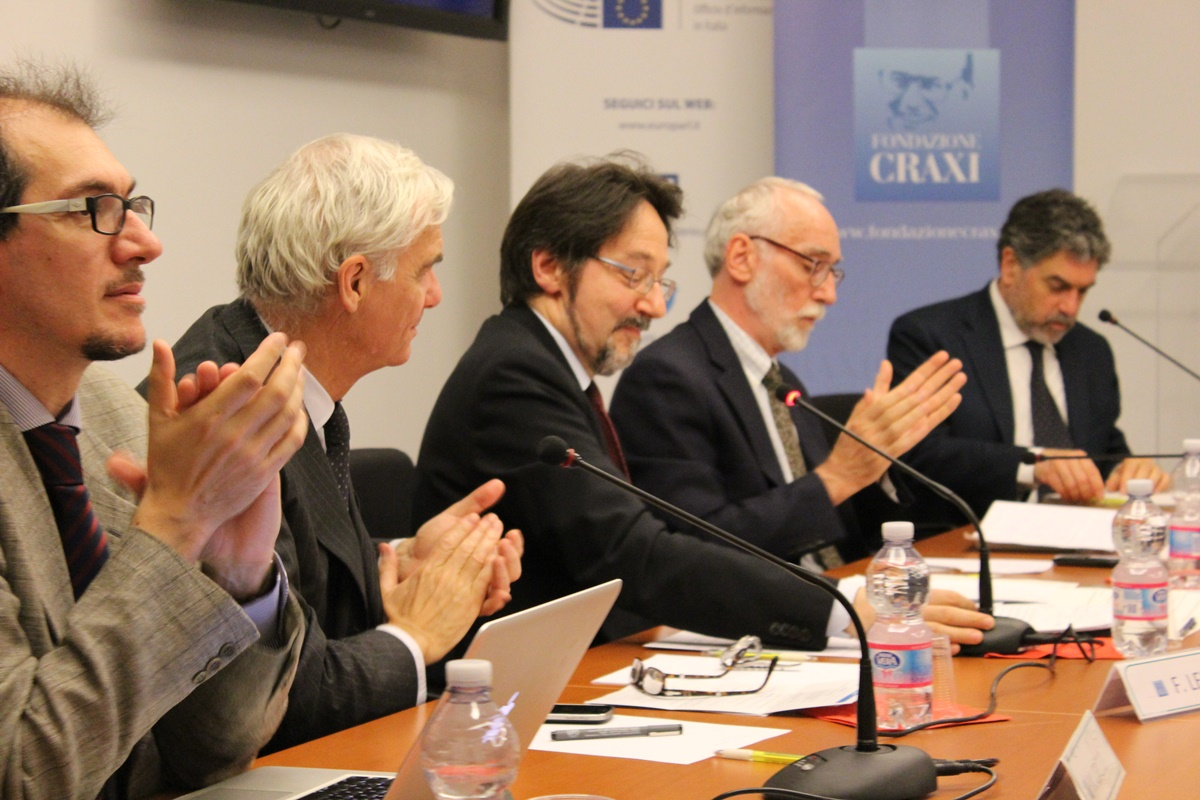 Francesco Lefebvre, Leopoldo Nuti e Federico Cresti