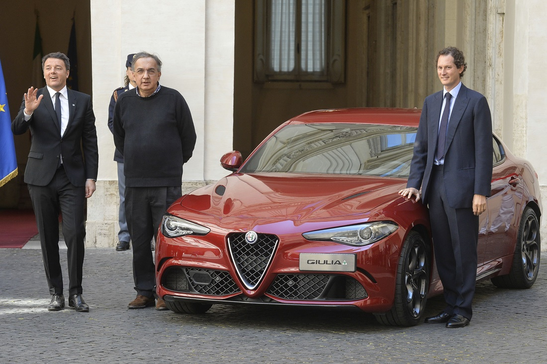 Sergio Marchiane e Matteo Renzi