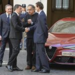 Sergio Marchiane, Matteo Renzi e John Elkann