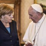 Papa Francesco e Angela Merkel
