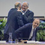 Alessandro Pansa, Franco Gabrielli e Angelino Alfano