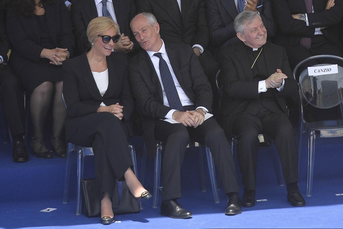 Roberta Pinotti e Franco Gabrielli
