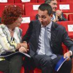 Valeria Fedeli e Luigi Di Maio