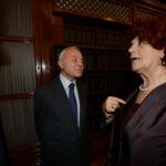 Gianni Letta e Valeria Fedeli