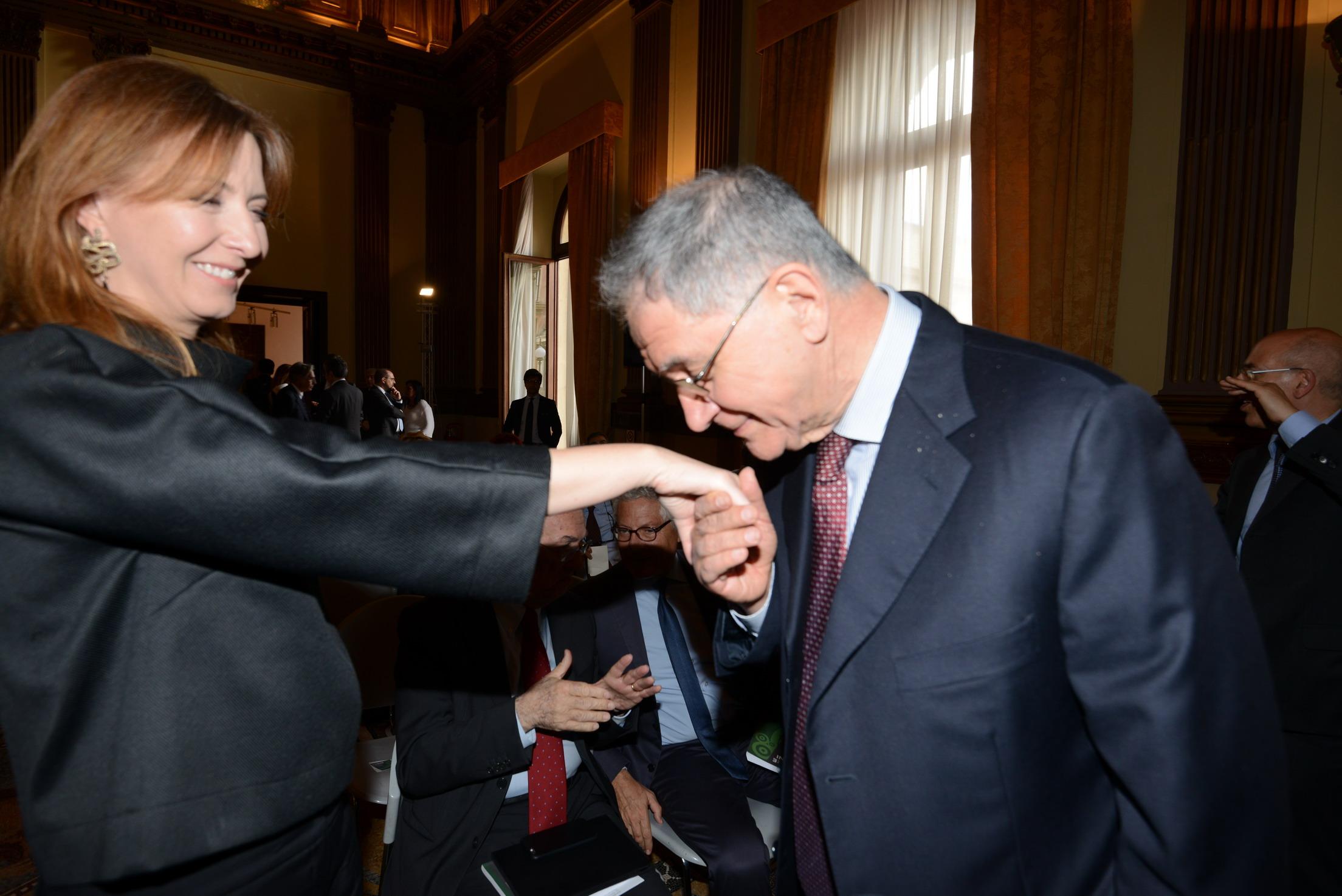 Barbara Carfagna e Rocco Buttiglione