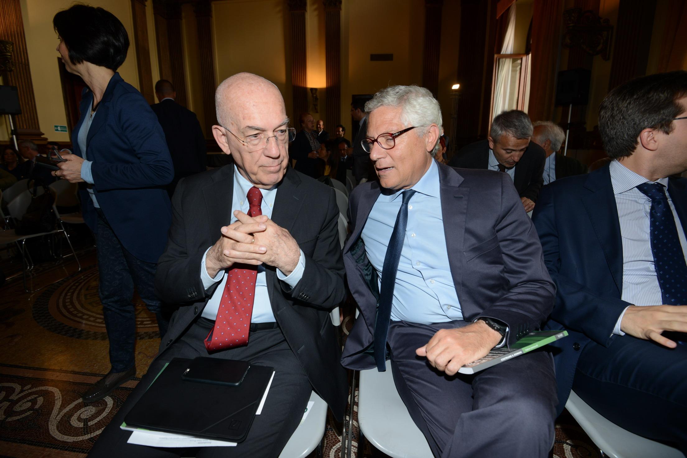 Antonello Soro e Giovanni Pitruzzella