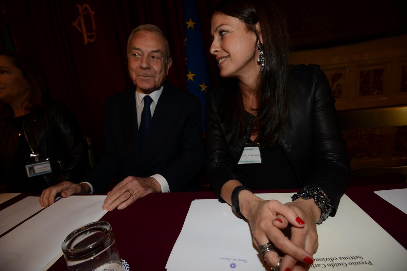 Gianni Letta e Azzurra Caltagirone