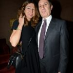 Gian Marco Chiocci e moglie