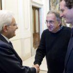 Sergio Mattarella, Sergio Marchionne e John Elkann
