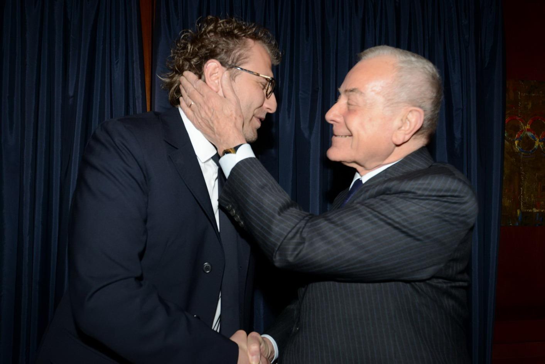 Luca Lotti e Gianni Letta