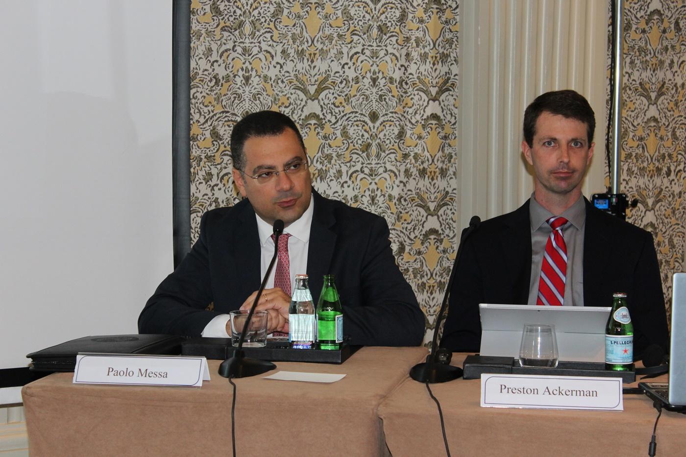Paolo Messa e Paul J. Tortora