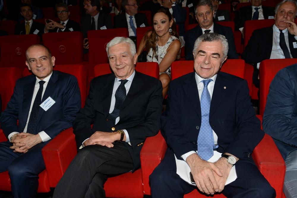 Antonio De Palmas, Gianni De Gennaro e Mauro Moretti