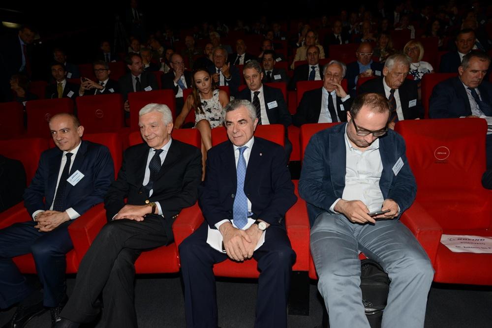 Antonio De Palmas, Gianni De Gennaro, Mauro Moretti e Stefano Firpo