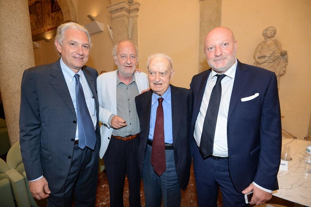 Luca, Emanuele e Antonio Macaluso e Paolo Franchi