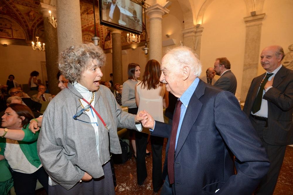 Franca Chiaramonte ed Emanuele Macaluso