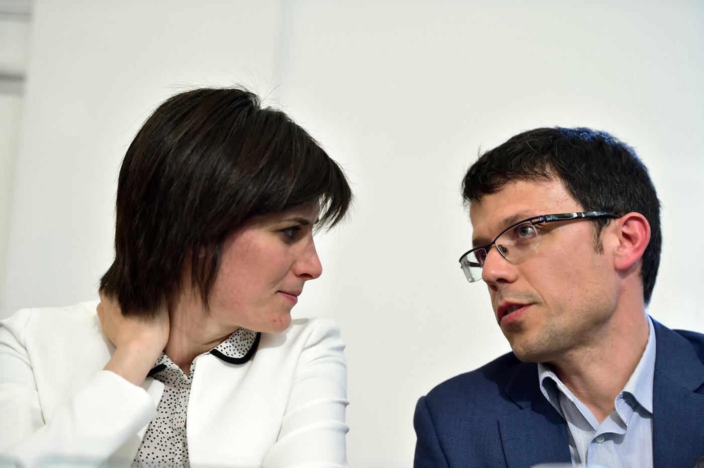 Chiara Appendino e Paolo Menis