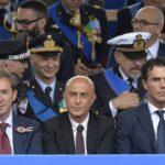 Angelo Rughetti, Marco Minniti e Sandro Gozi