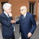 Massimo Bray e Giorgio Napolitano