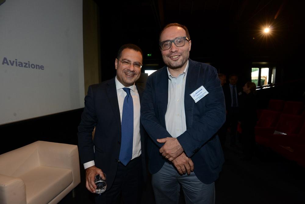 Paolo Messa e Stefano Firpo