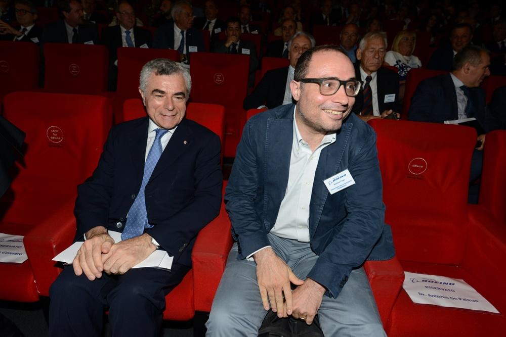 Mauro Moretti e Stefano Firpo