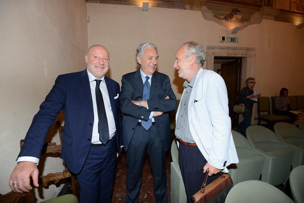 Antonio e Luca Macaluso e Paolo Franchi