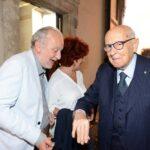 Paolo Franchi, Valeria Fedeli e Giorgio Napolitano