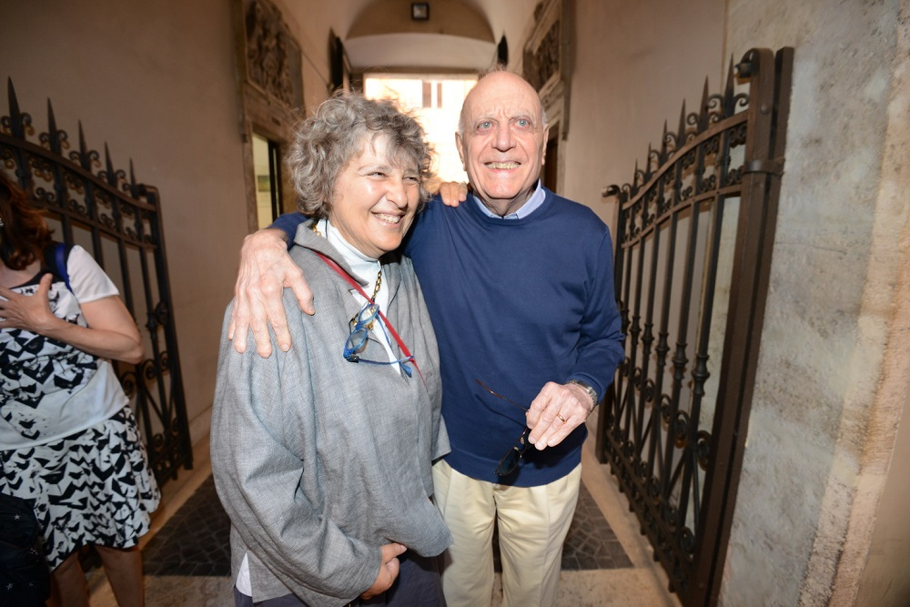 Franca Chiaramonte e Rino Formica