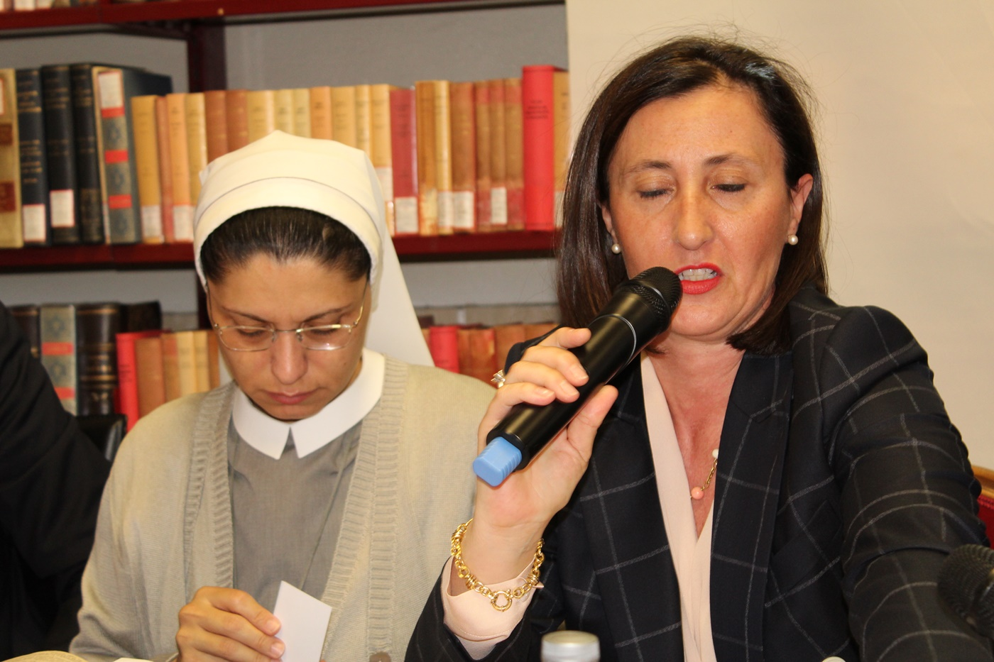 Anna Monia Alfieri e Maria Chiara Parola