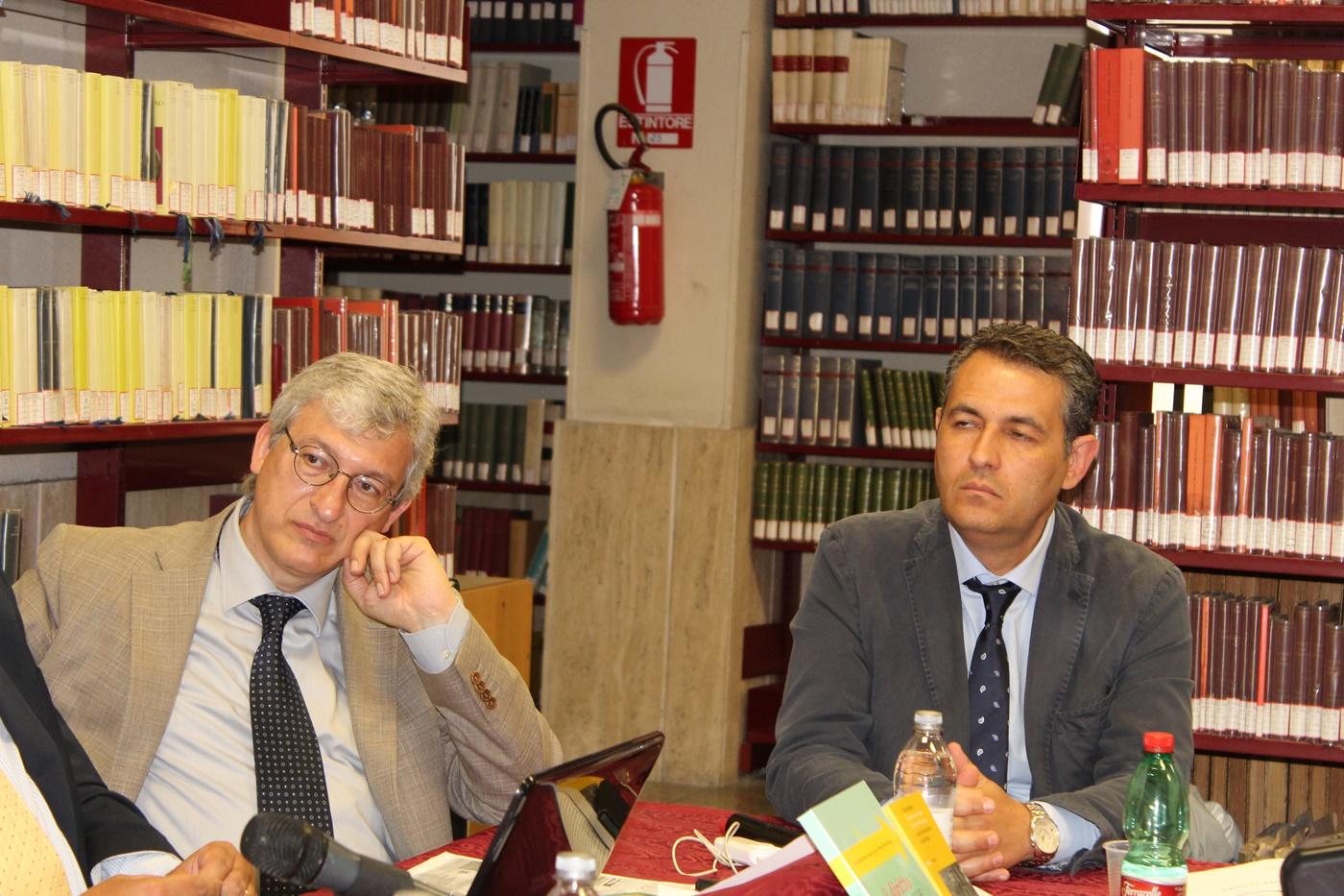 Marco Esposito e Pasquale Pazienza