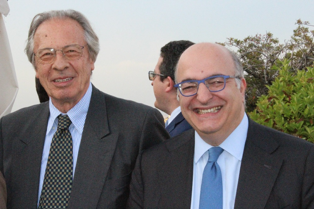 Ernesto Auci e Mario Sechi