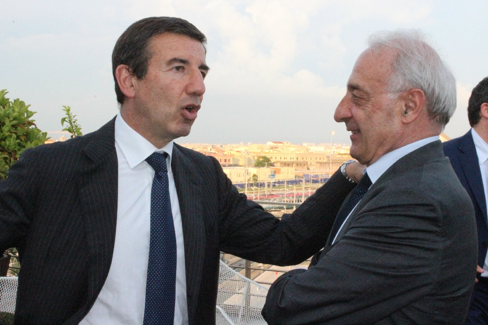 Ignazio Abrignani e Gianfranco Borghini