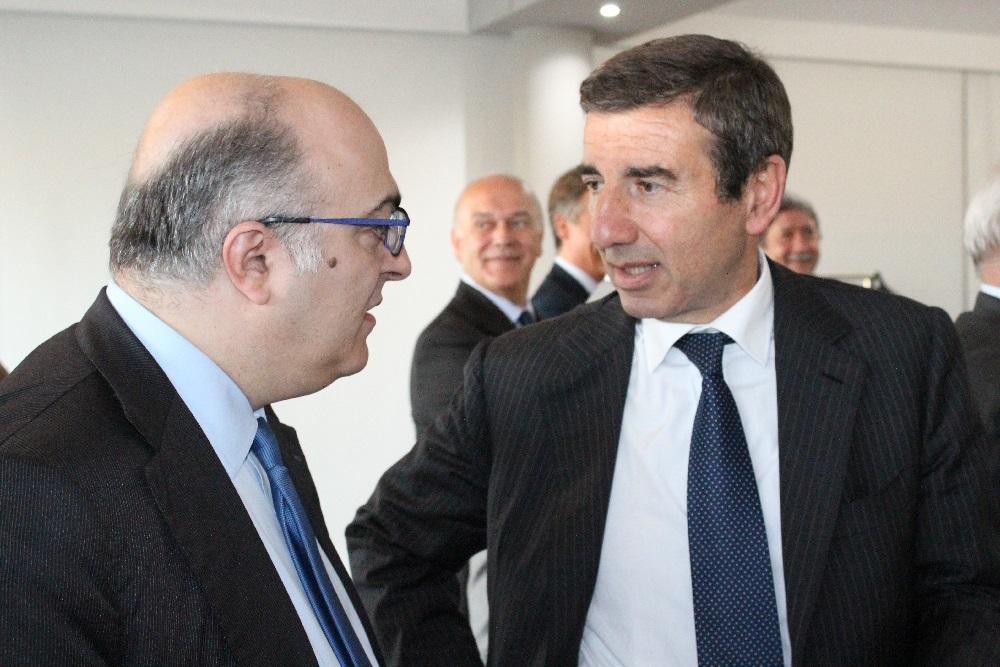 Mario Sechi e Ignazio Abrignani