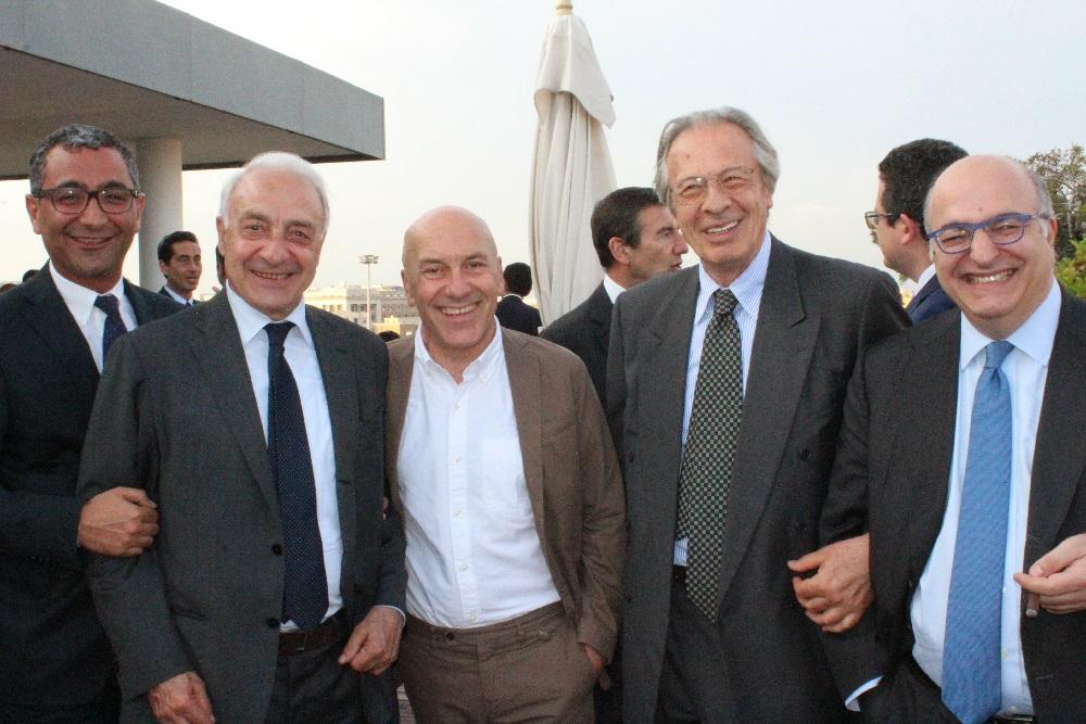 Gianfranco Borghini, Claudio Velardi ed Ernesto Auci