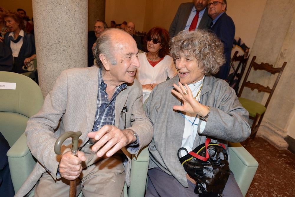Valentino Parlato e Franca Chiaramonte