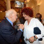 Emanuele Macaluso e Valeria Fedeli