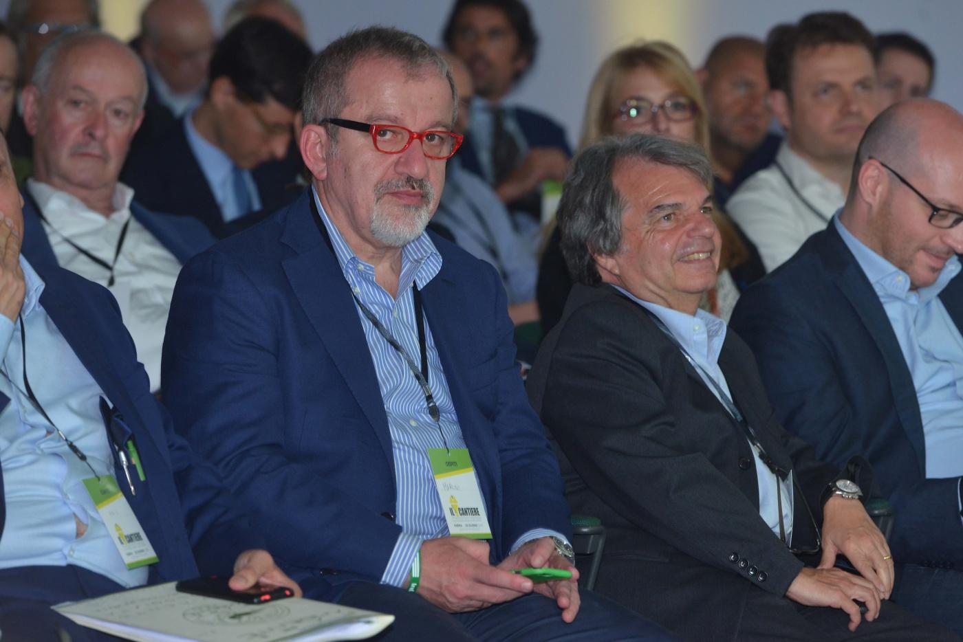 Bobo Maroni e Renato Brunetta