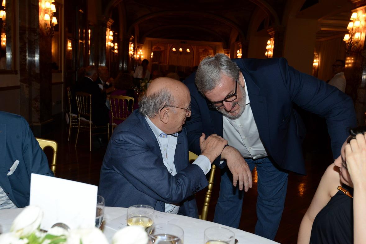Ciriaco De Mita e Michele Emiliano