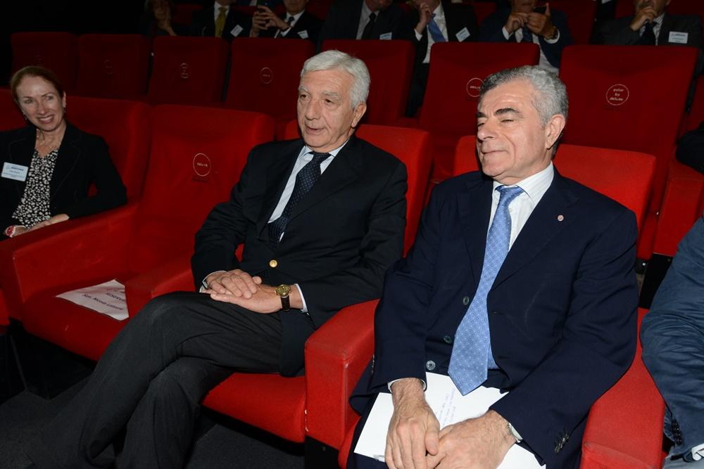 Gianni De Gennaro e Mauro Moretti