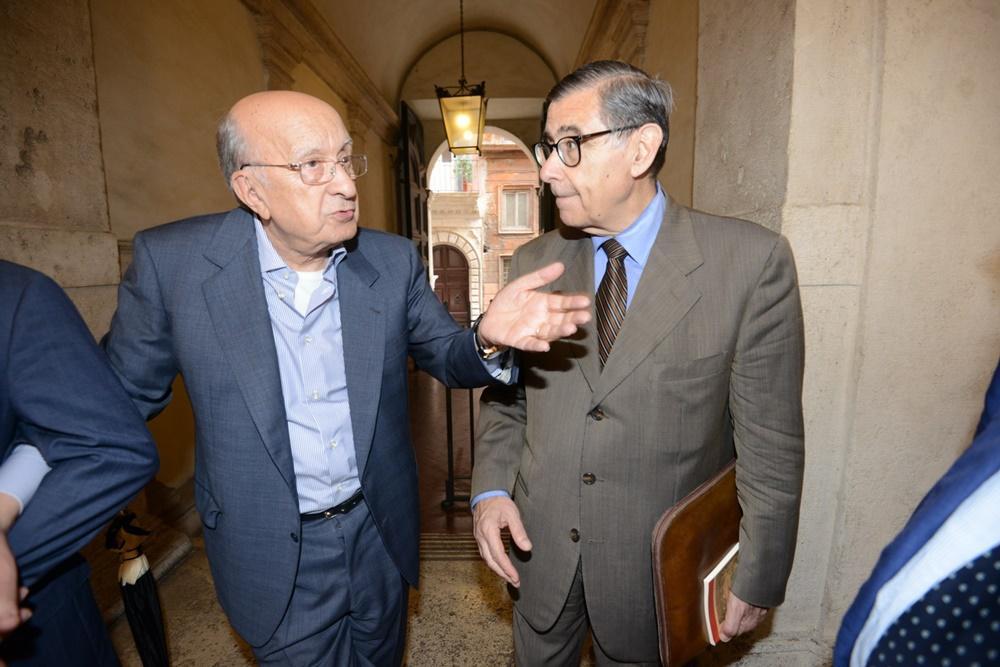 Ciriaco De Mita e Francesco D'Onofrio