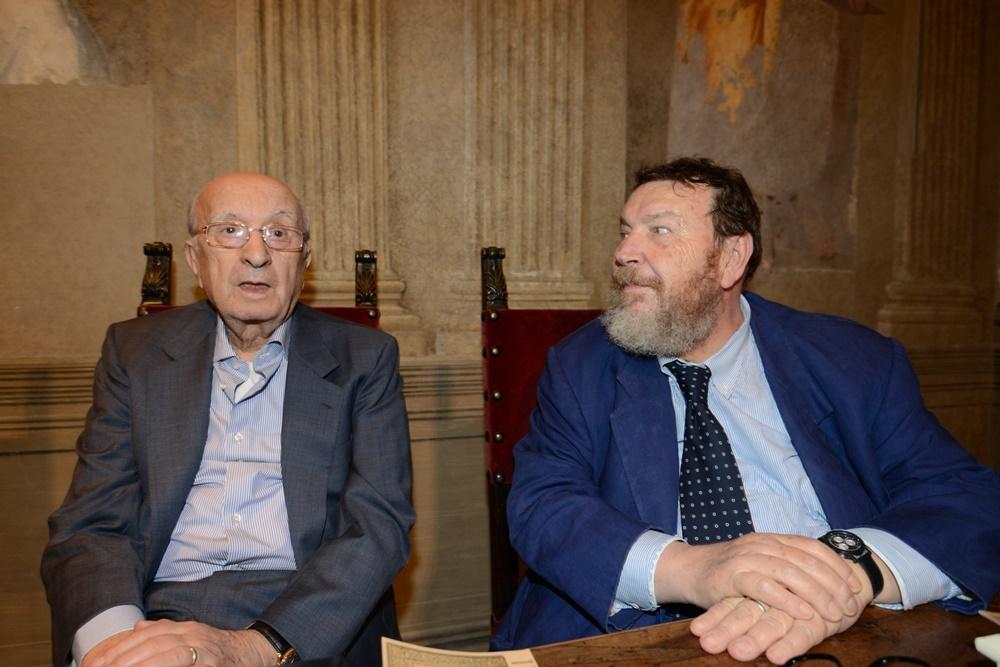 Ciriaco De Mita e Giuliano Ferrara