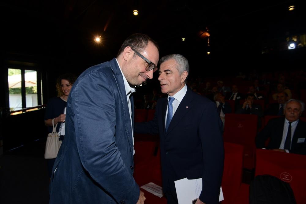 Stefano Firpo e Mauro Moretti