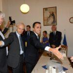 Piero Schiavazzi e Luigi Di Maio