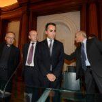 Antonio Spadaro, Carlo Colomba, Luigi Di Maio e Piero Schiavazzi