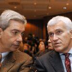 Antonio Padellaro e Maurizio Belpietro