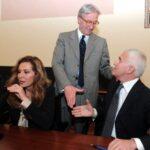 Daniela Santanché, Vittorio Feltri e Maurizio Belpietro