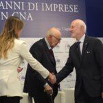 Maria Elena Boschi, Giorgio Napolitano e Daniele Vaccarino