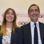 Maria Elena Boschi e Beppe Sala